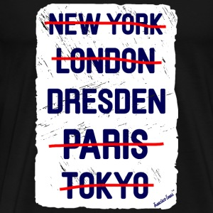 NY London Dresden..., Francisco Evans ™ T-shirts - Herre premium T-shirt