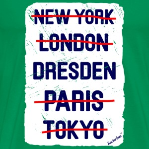 NY London Dresden..., Francisco Evans ™ T-shirts - Mannen Premium T-shirt