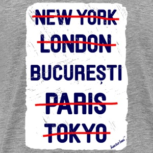 NY London București..., Francisco Evans ™ T-shirts - Herre premium T-shirt
