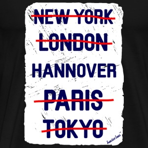 NY London Hannover..., Francisco Evans ™ T-skjorter - Premium T-skjorte for menn
