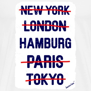 NY London Hamburg..., Francisco Evans ™ T-Shirts - Männer Premium T-Shirt
