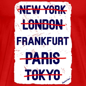 NY London Frankfurt..., Francisco Evans ™ T-shirts - Herre premium T-shirt