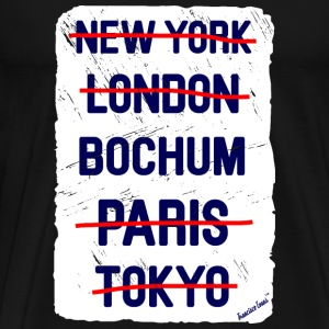 NY London Bochum..., Francisco Evans ™ T-shirts - Mannen Premium T-shirt