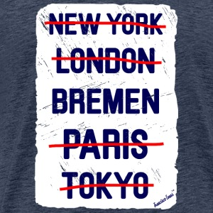 NY London Bremen..., Francisco Evans ™ T-shirts - Mannen Premium T-shirt