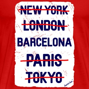 NY London Barcelona..., Francisco Evans ™ T-Shirts - Männer Premium T-Shirt