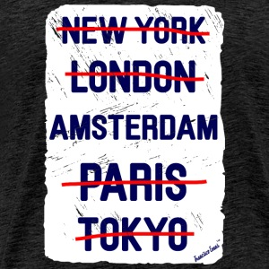 NY London Amsterdam..., Francisco Evans ™ T-skjorter - Premium T-skjorte for menn