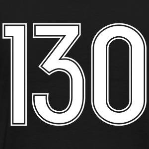 130, Hundertdreißig, Hundred Thirty, Pelibol ™ T-shirts - Premium-T-shirt herr