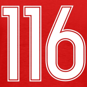 116, Hundertsechzehn, Hundred Sixteen, Pelibol ™ T-Shirts - Men's Premium T-Shirt