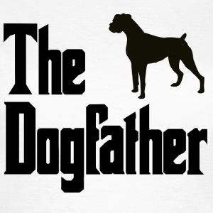 Dog,Father Boxer - Women's T-Shirt