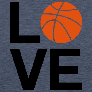 basketball_love - T-shirt Premium Homme