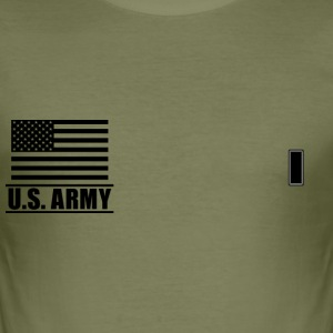 First Llieutenant 1LT US Army, Mision Militar ™ T-Shirts - Männer Slim Fit T-Shirt