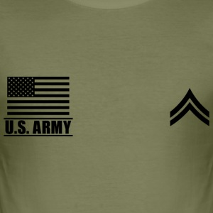 Corporal CPL US Army, Mision Militar ™ T-Shirts - Men's Slim Fit T-Shirt