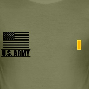 Second Lieutenant 2LT US Army, Mision Militar ™ T-Shirts - Men's Slim Fit T-Shirt