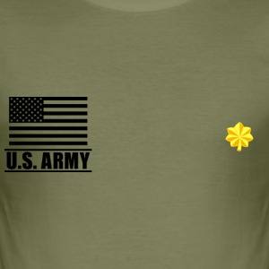 Major MAJ US Army, Mision Militar ™ T-Shirts - Men's Slim Fit T-Shirt