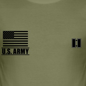 Captain CPT US Army, Mision Militar ™ T-Shirts - Männer Slim Fit T-Shirt