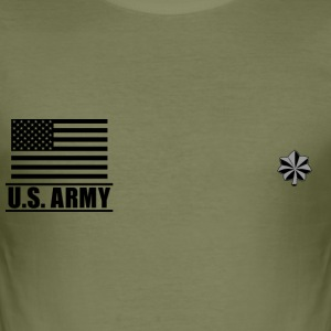 Lieutenant Colonel LTC US Army, Mision Militar ™ T-Shirts - Men's Slim Fit T-Shirt