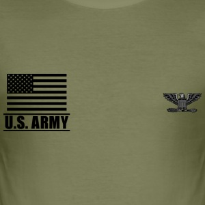 Colonel COL US Army, Mision Militar ™ T-Shirts - Männer Slim Fit T-Shirt