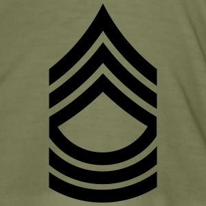 Master Sergeant MSG US Army, Mision Militar ™ T-shirts - Slim Fit T-shirt herr