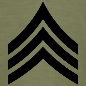 Sergeant SGT US Army, Mision Militar ™ T-shirts - Slim Fit T-shirt herr
