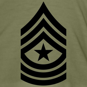 Sergeant Major SGM US Army, Mision Militar ™ T-shirts - Herre Slim Fit T-Shirt