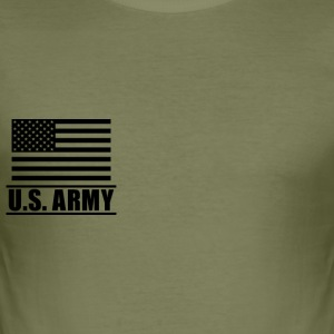 Private PV1 US Army, Mision Militar ™ T-shirts - Slim Fit T-shirt herr