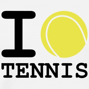 i love tennis - T-shirt Premium Homme