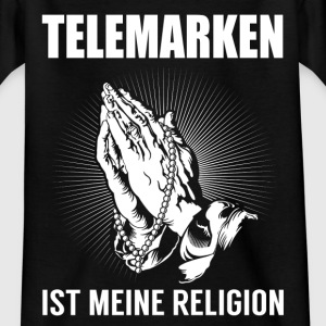 Tele mærker - min religion T-shirts - Teenager-T-shirt