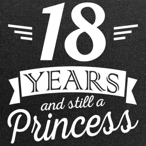 18 years and still a princess Kasketter & huer - Jersey-Beanie