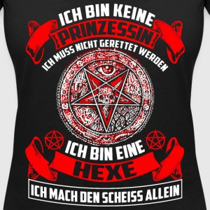 Witch - geen prinses T-shirts - Vrouwen T-shirt met V-hals
