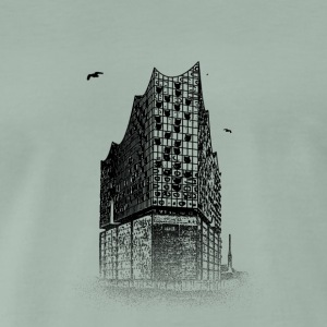Around The World: Elbphilharmonie - Hamburg - Männer Premium T-Shirt