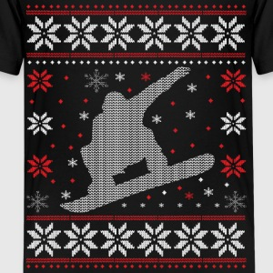Snowboard - Ugly Christmas T-Shirts - Teenager Premium T-Shirt