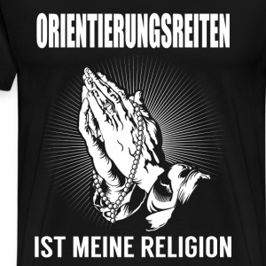 Circonscription d'orientation - ma religion Tee shirts - T-shirt Premium Homme