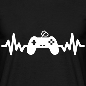 Gaming is life - Geek Gaming nerd gamer funny - Men's T-Shirt