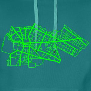 Berlin Kreuzberg (neon-grün)