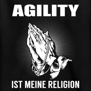 Agility - min religion T-shirts - Teenager-T-shirt