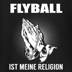 Flyball - ma religion Tee shirts manches longues Bébés - T-shirt manches longues Bébé