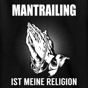 Mantrailing - meine Religion T-Shirts - Teenager T-Shirt
