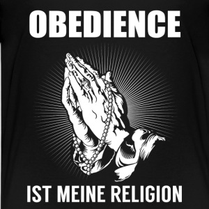 Obedience - my religion Shirts - Teenage Premium T-Shirt