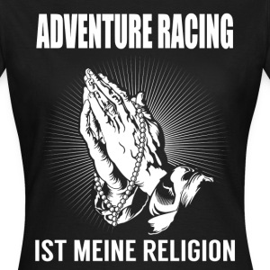 Course d'aventure - ma religion Tee shirts - T-shirt Femme