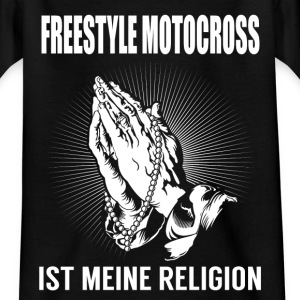 Freestyle Motocross - meine Religion T-Shirts - Teenager T-Shirt