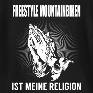 Freestyle mountain bike - mi religión Camisetas de manga larga bebé - Camiseta manga larga bebé