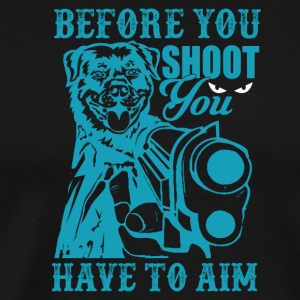 Dog shoots - Männer Premium T-Shirt