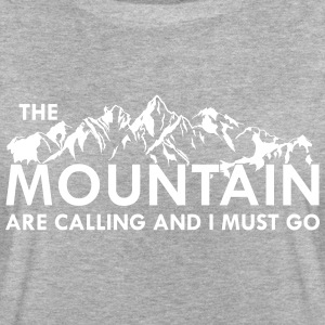 the Mountain are calling and i must go T-Shirts - Women's Oversize T-Shirt