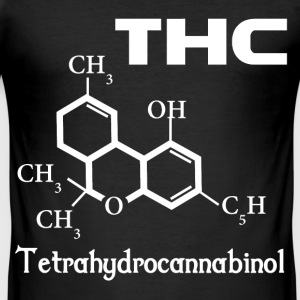 THC is Health T-Shirts - Männer Slim Fit T-Shirt