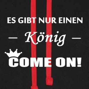 Come on! König  Pullover & Hoodies - Unisex Baseball Hoodie