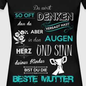 Stolze Beste Mutter - Frauen Premium T-Shirt