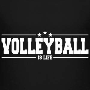 volleyball is life 1 Camisetas - Camiseta premium adolescente