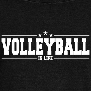 volleyball is life 1 Sweat-shirts - Pull Femme col bateau de Bella