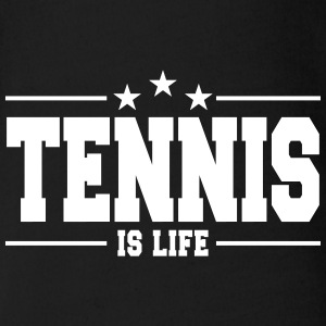tennis is life 1 Body neonato - Body ecologico per neonato a manica corta