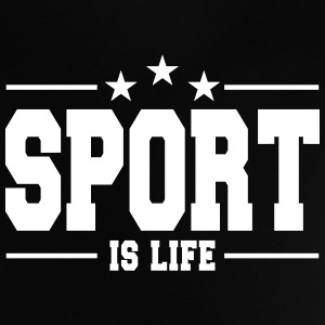 sport is life 1 Tee shirts Bébés - T-shirt Bébé